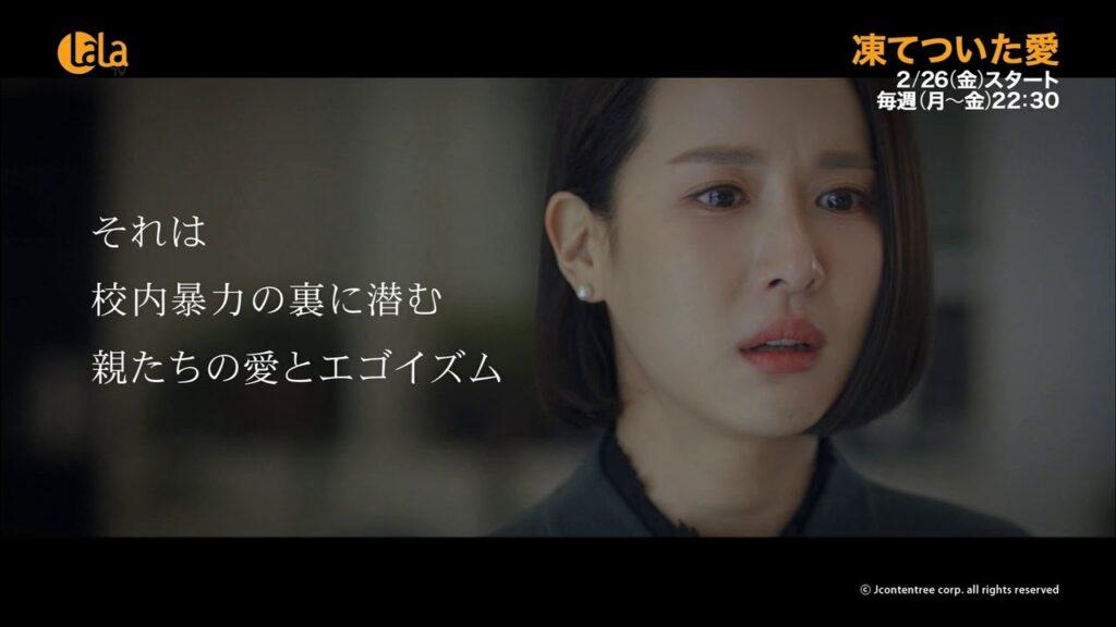 凍てついた愛BS12で再放送!韓国でも評価の高い名作【ウェルメイドドラマ】